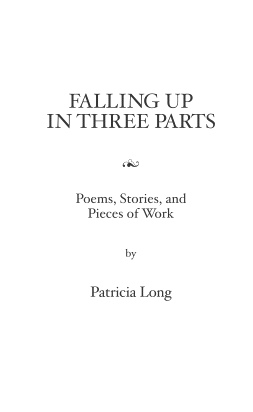 cover of Falling Up in Three Parts